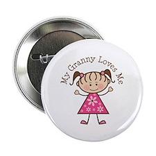 """Granny Loves Me 2.25"""" Button"""