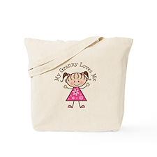 Granny Loves Me Tote Bag