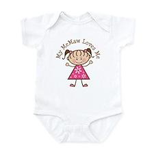 Memaw Loves Me Infant Bodysuit