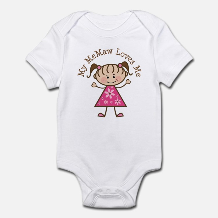 Memaw Loves Me Infant Bodysuit