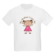 Memaw Loves Me T-Shirt