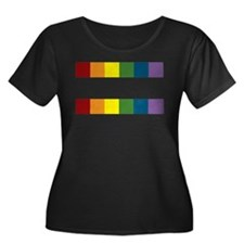 Gay Rights Equal Sign Plus Size T-Shirt