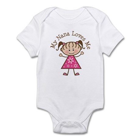 Nana Loves Me Infant Bodysuit