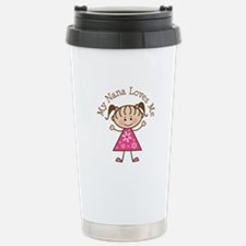 Nana Loves Me Stainless Steel Travel Mug
