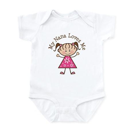 Nana Loves Me Infant Bodysuit Baby Light Bodysuit