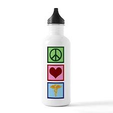 Peace Love Medicine Water Bottle