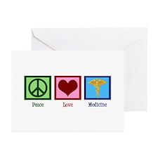 Peace Love Medicine Greeting Cards (Pk of 20)