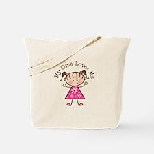 Oma Loves Me Tote Bag