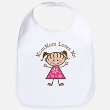 MomMom Loves Me Bib