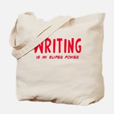 Super Power: Writing Tote Bag