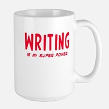 Super Power: Writing Mug