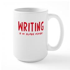 Super Power: Writing Mug