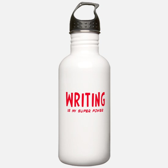 Super Power: Writing Water Bottle