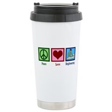 Peace Love Engineering Travel Mug