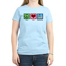 Peace Love Engineering T-Shirt