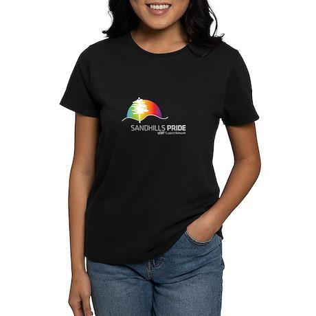 Women's Dark T-Shirt 100% cotton