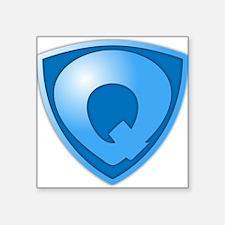 Super Q Super Hero Design Sticker
