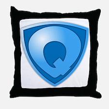 Super Q Super Hero Design Throw Pillow