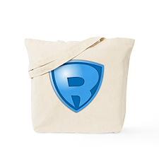 Super R Super Hero Design Tote Bag