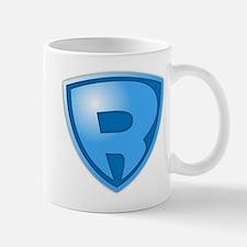 Super R Super Hero Design Mug