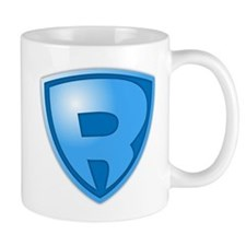 Super R Super Hero Design Mug