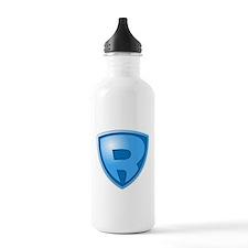 Super R Super Hero Design Water Bottle