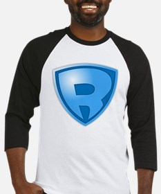 Super R Super Hero Design Baseball Jersey
