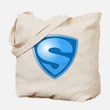 Super S Super Hero Design Tote Bag