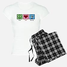 Peace Love Banking Pajamas