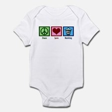 Peace Love Banking Infant Bodysuit