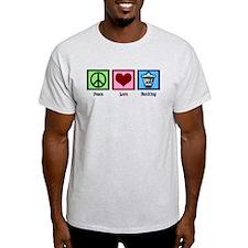 Peace Love Banking T-Shirt