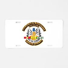 Army - 13 Signal BN w VN Svc Aluminum License Plat