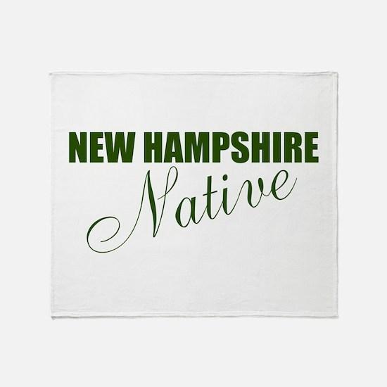 NH Native Throw Blanket