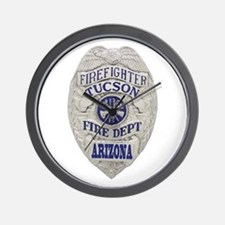 Tucson Firefighter Wall Clock