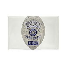 Tucson Firefighter Rectangle Magnet (100 pack)