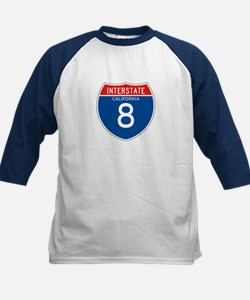 Interstate 8 - CA Kids Baseball Jersey