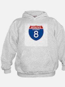 Interstate 8 - CA Hoodie