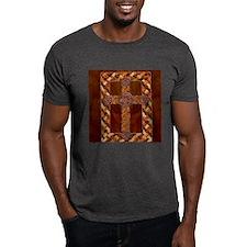 Harvest Moons Celtic Spiral Cross T-Shirt
