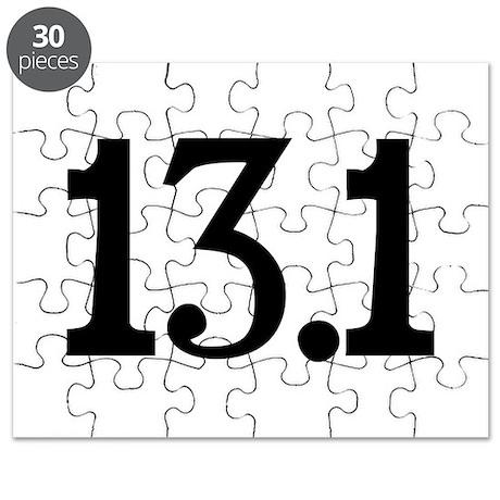Half Marathon Puzzle
