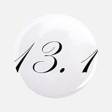 """Half Marathon 3.5"""" Button (100 pack)"""