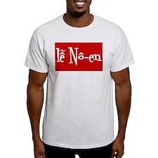 Holiday Apparel Ash Grey T-Shirt