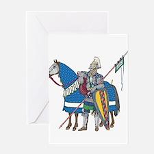 Golden Horde Greeting Card