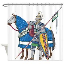 Golden Horde Shower Curtain