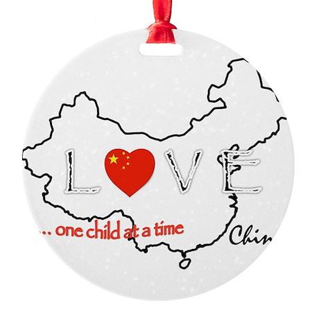 Round Christmas Ornament