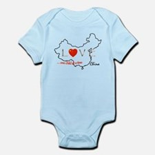 Unique Chinese adoption Infant Bodysuit