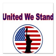 United We Stand, With Flag and Statue of Liberty S