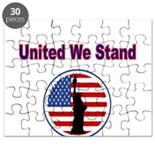 United We Stand, With Flag and Statue of Liberty P