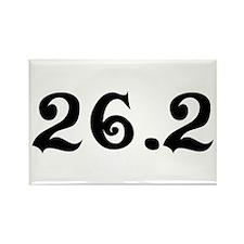 26.2 Marathon Rectangle Magnet