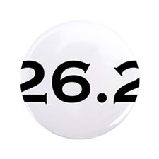 "26.2 Marathon 3.5"" Button"