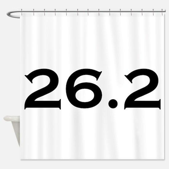26.2 Marathon Shower Curtain
